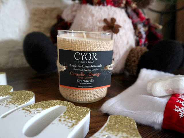 Les bougies naturelles de la marque Cyor