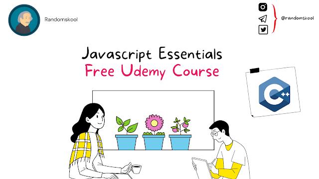 Free Course | Javascript Essentials | Udemy