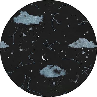 افتار مواقع التواصل رسم سحب مع النجوم والهلال ورموز