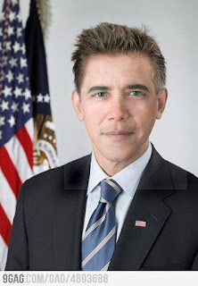 Pic of the Day!: How Obama would look like if he was a white man