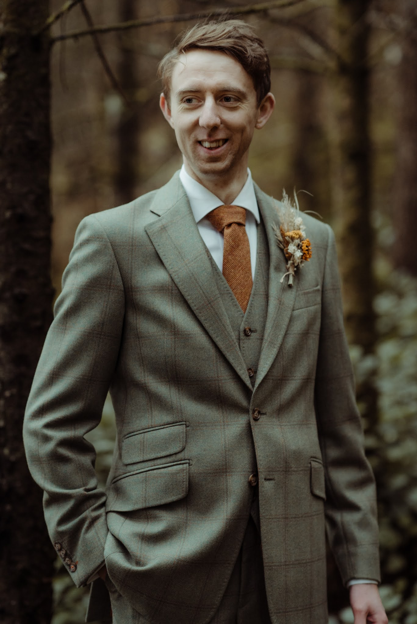 Getting a Made-to-Measure Suit from Livingston Bespoke, Castle Douglas visit dumfries and galloway