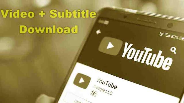 Cara Download Video dan Subtitle Youtube Tanpa Aplikasi dari HP Android