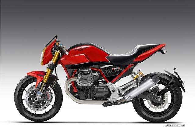 Moto Guzzi V85 R RSCA Design