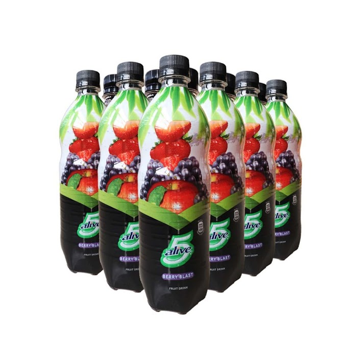 5 Alive Berry Blast Fruit Drink 78cl x 12