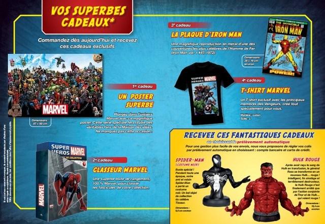 Super Héros Marvel - Altaya - Cadeaux aux abonnés