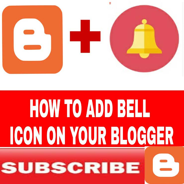 Create a bell notification icon for your blogger or website