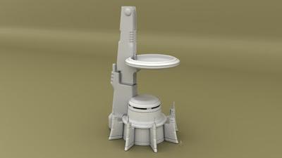 Tower 2 with troop platform