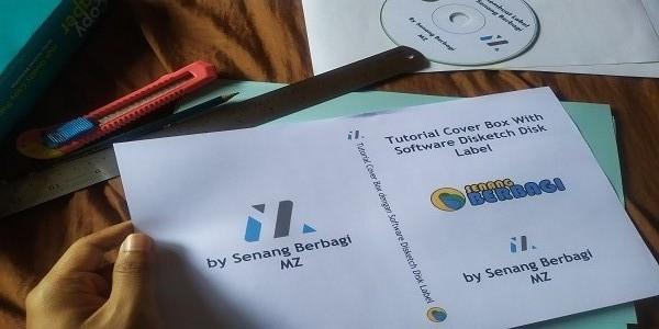 cover box cd dengan software disketch disk label
