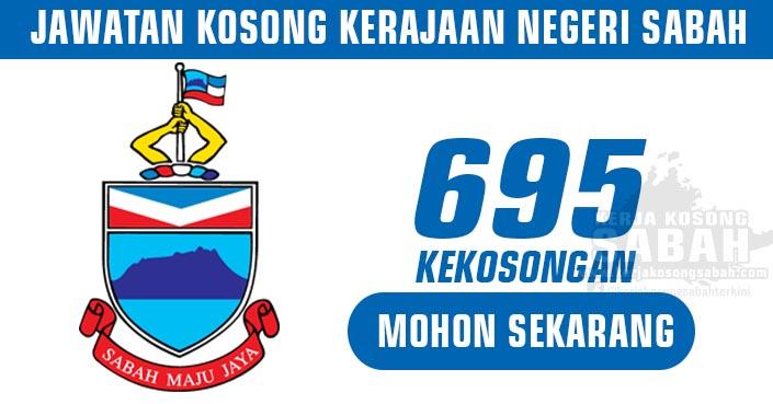 Jawatan Kosong Kerajaan Negeri Sabah 2021 | 695 Kekosongan - Pelbagai Jabatan dan Jawatan