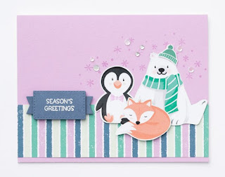 Stampin' Up! Sale-a-Bration Favorite: 8 Penguin Playmates Project Ideas  #stampinup