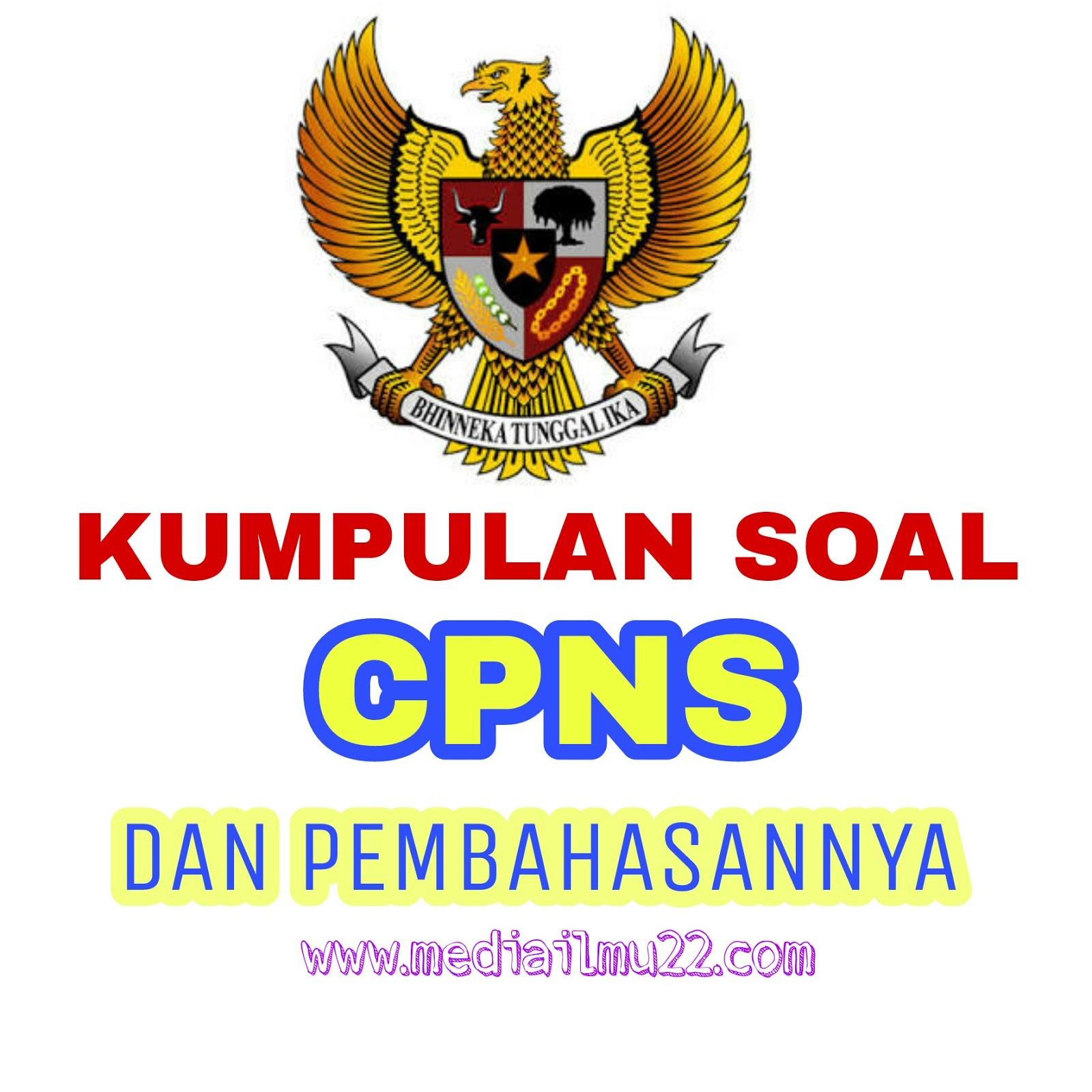 Soal Cpns Dan Pembahasannya Pdf Free Download Mediailmu22