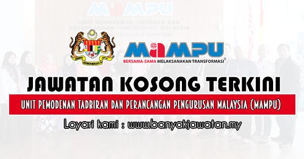 Jawatan Kosong Kerajaan 2019 di Unit Pemodenan Tadbiran dan Perancangan Pengurusan Malaysia (MAMPU)