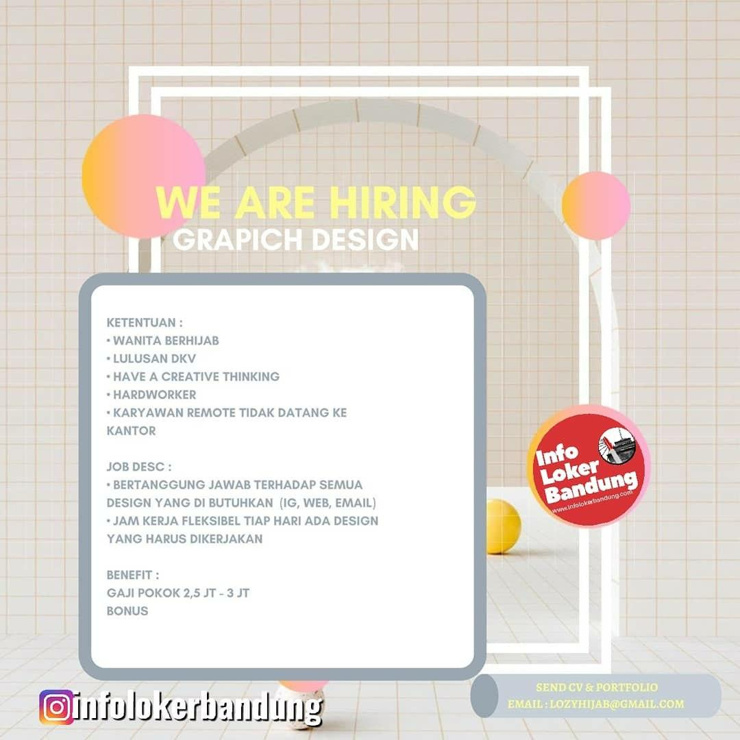 Lowongan Kerja Graphic Design Lozy Hijab Bandung Februari 2020