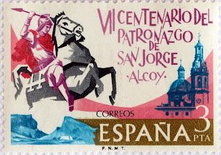 VII CENTENARIO DE LA APARICIÓN DE SAN JORGE EN ALCOY
