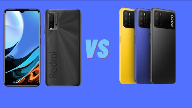 Poco M3 Vs Redmi 9 Power specifications and price