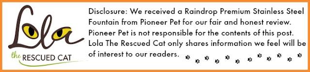 Pioneer Pet|raindrop fountain