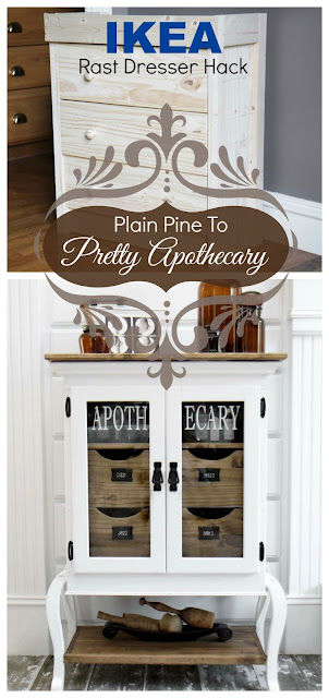 IKEA Hack, Apothecary Cabinet, Bliss-Ranch.com