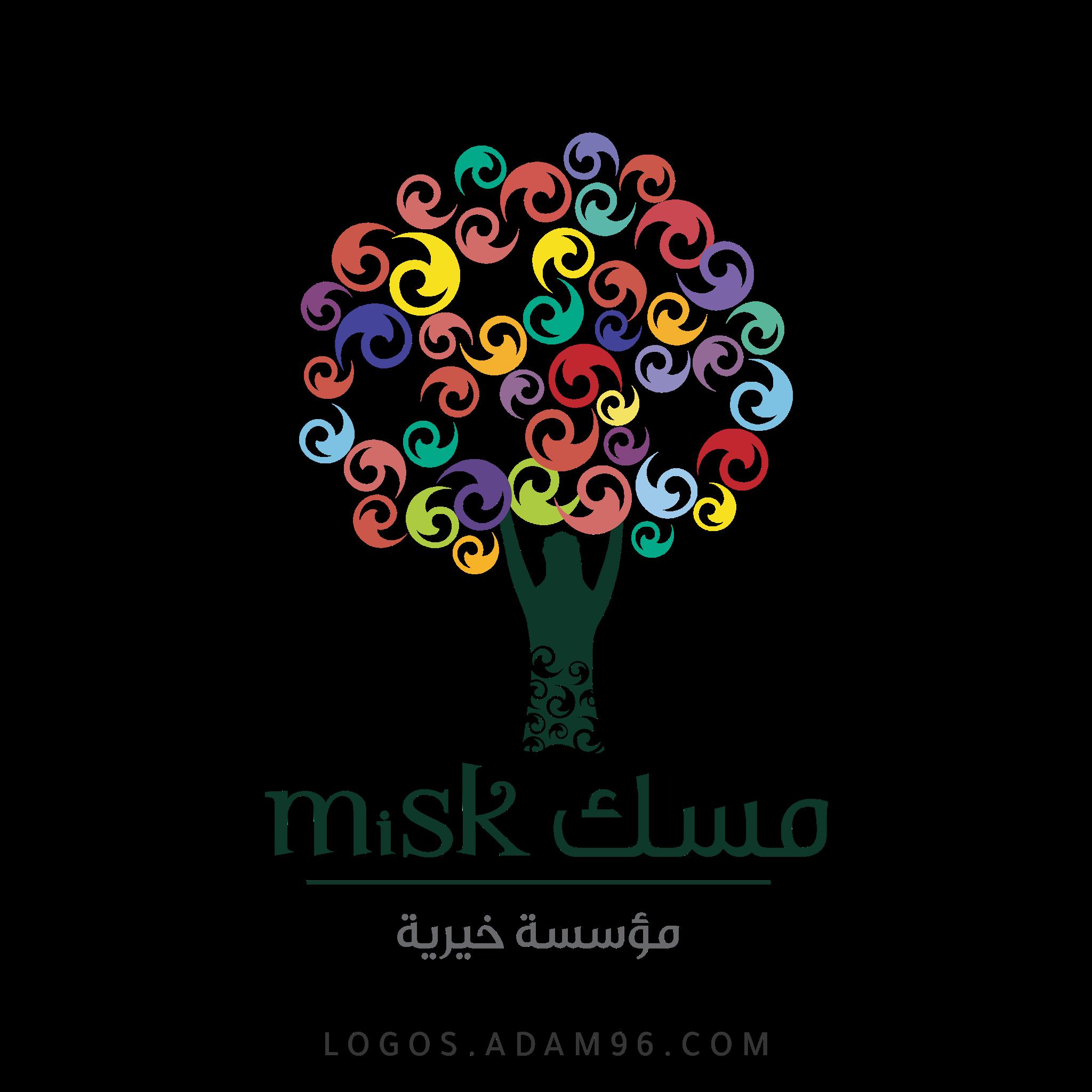 تحميل شعار مؤسسة مسك السعودية لوجو رسمي شفاف PNG