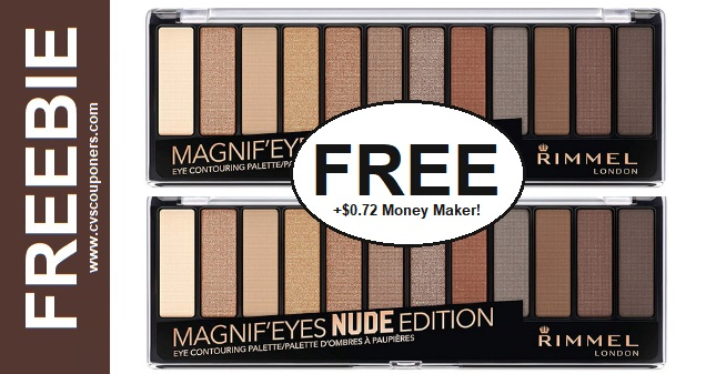 FREE Rimmel Magnif'eyes Eyeshadow CVS Deal 811-817