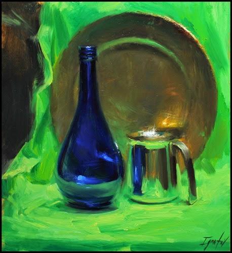 Vidro, Bronze e Cromo - Ignat Ignatov e suas mais belas pinturas  ~ Pintora russa