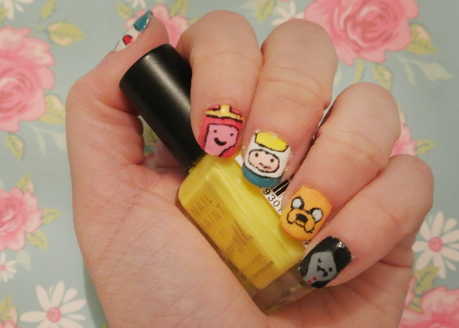 Sunday Nails 28 Adventure Time Totally Emily