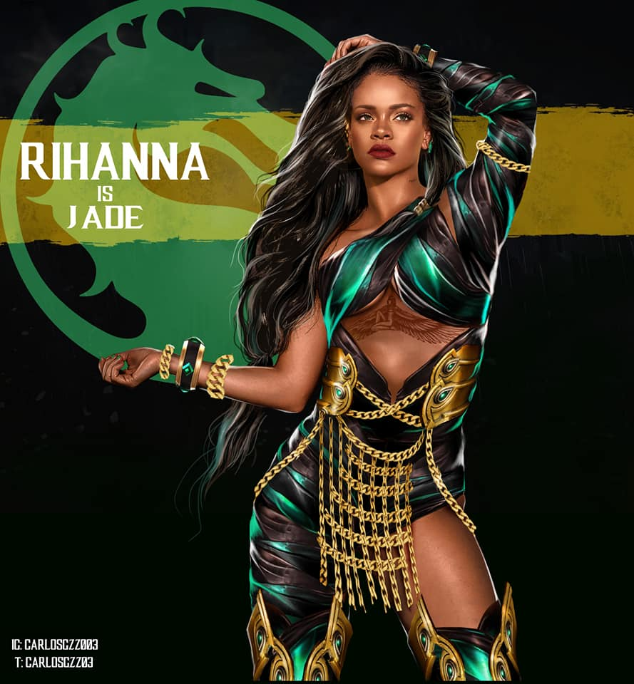 Cantoras pop como personagens do Mortal Kombat