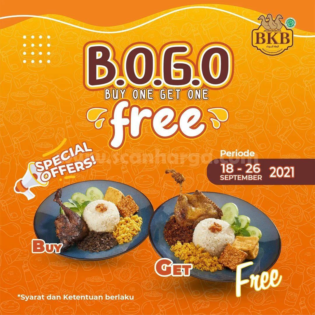 Bebek BKB Rawamangun Grand Opening Promo Beli 1 Gratis 1