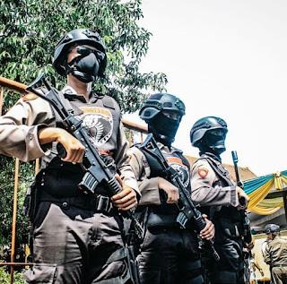 Antisipasi Serangan Berdarah di Mapolsek Wonokromo, Polres Lumajang Perketat Penjagaan
