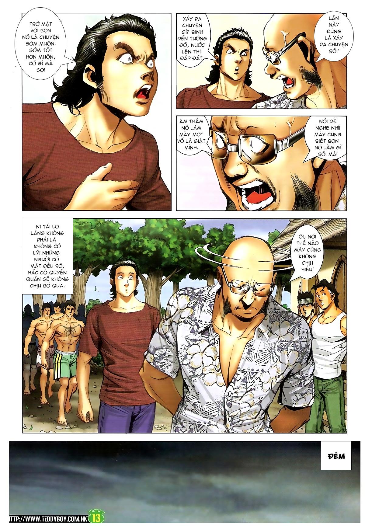 Người Trong Giang Hồ - Chapter 1395: Phiên bản Đại Phi - Pic 10