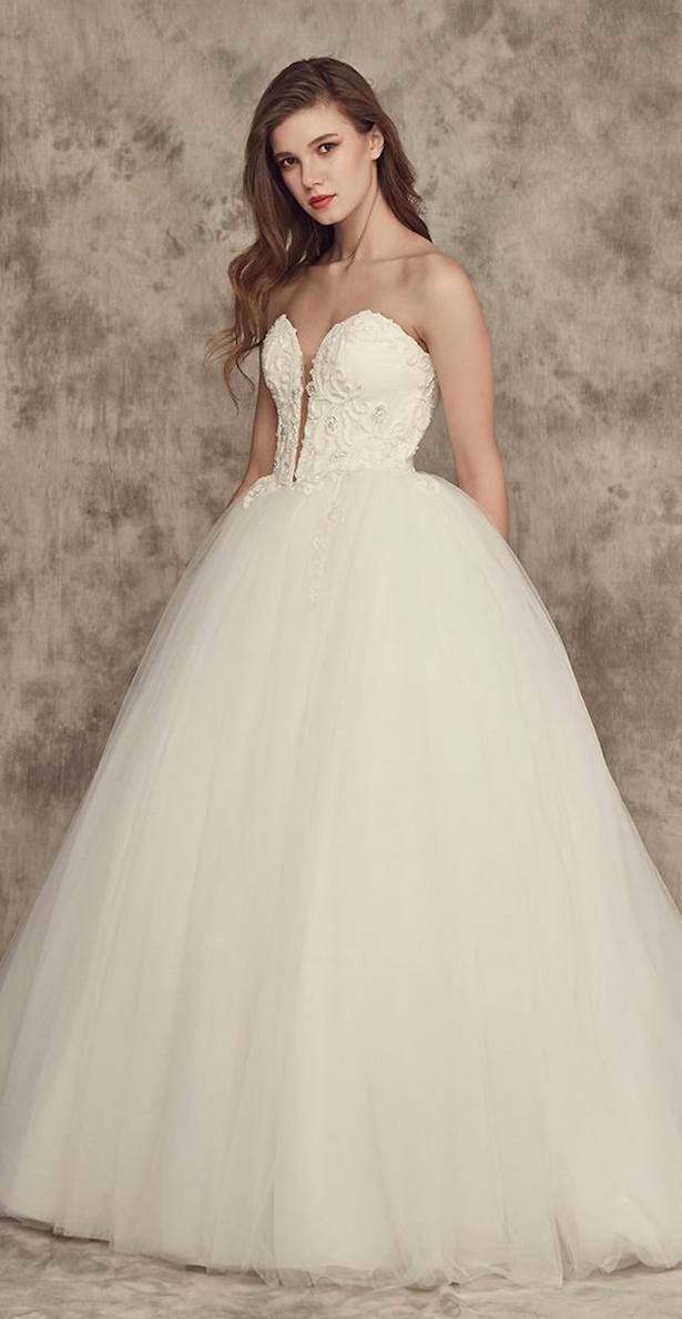 princesa de vestido de novia