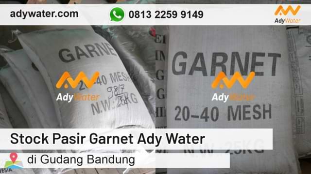 harga pasir garnet, jual pasir sandblasting, distributor pasir sandblasting ady water