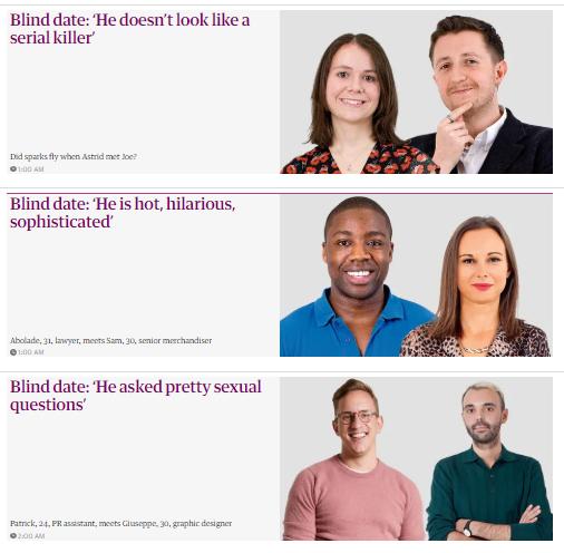 blind dating serien