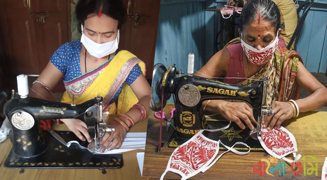 Start Income Form Home - Women Start Making Masks from Home