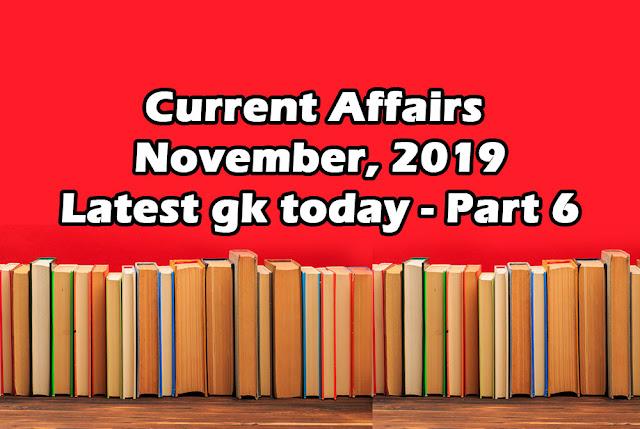 current affairs 2019