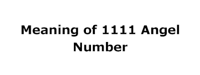meaning of 1111