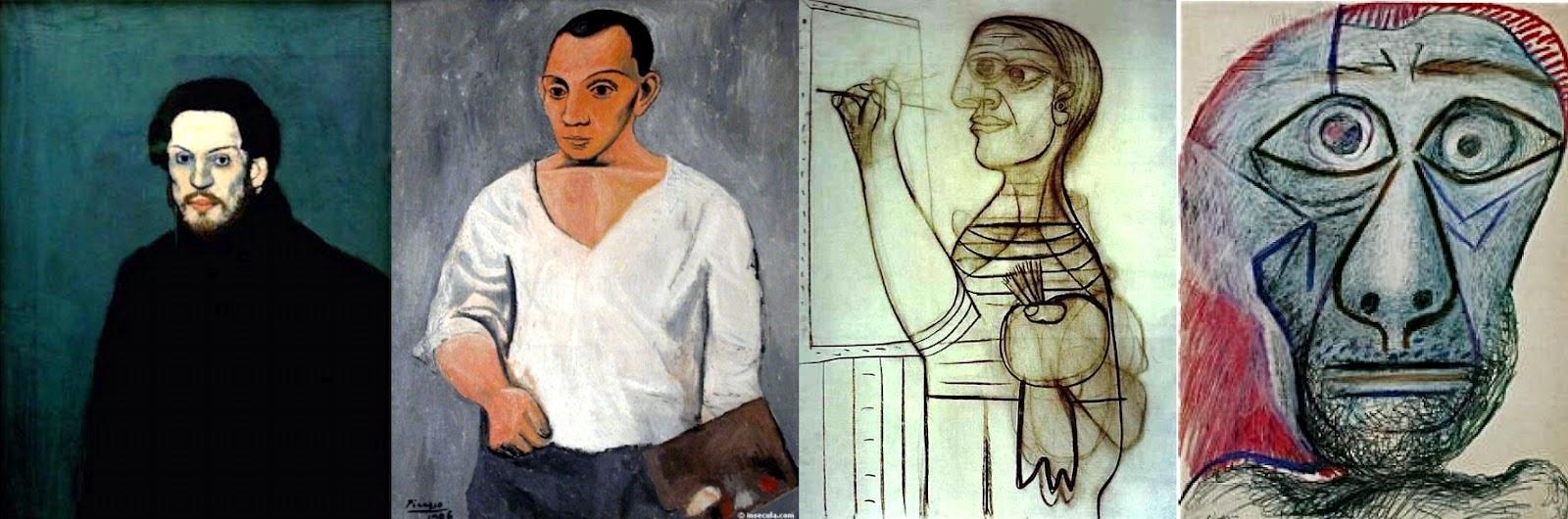 le prix reste stable sur des pieds à matériaux de qualité supérieure histoire-d-arts: fiche revision Picasso les 4 autoportraits