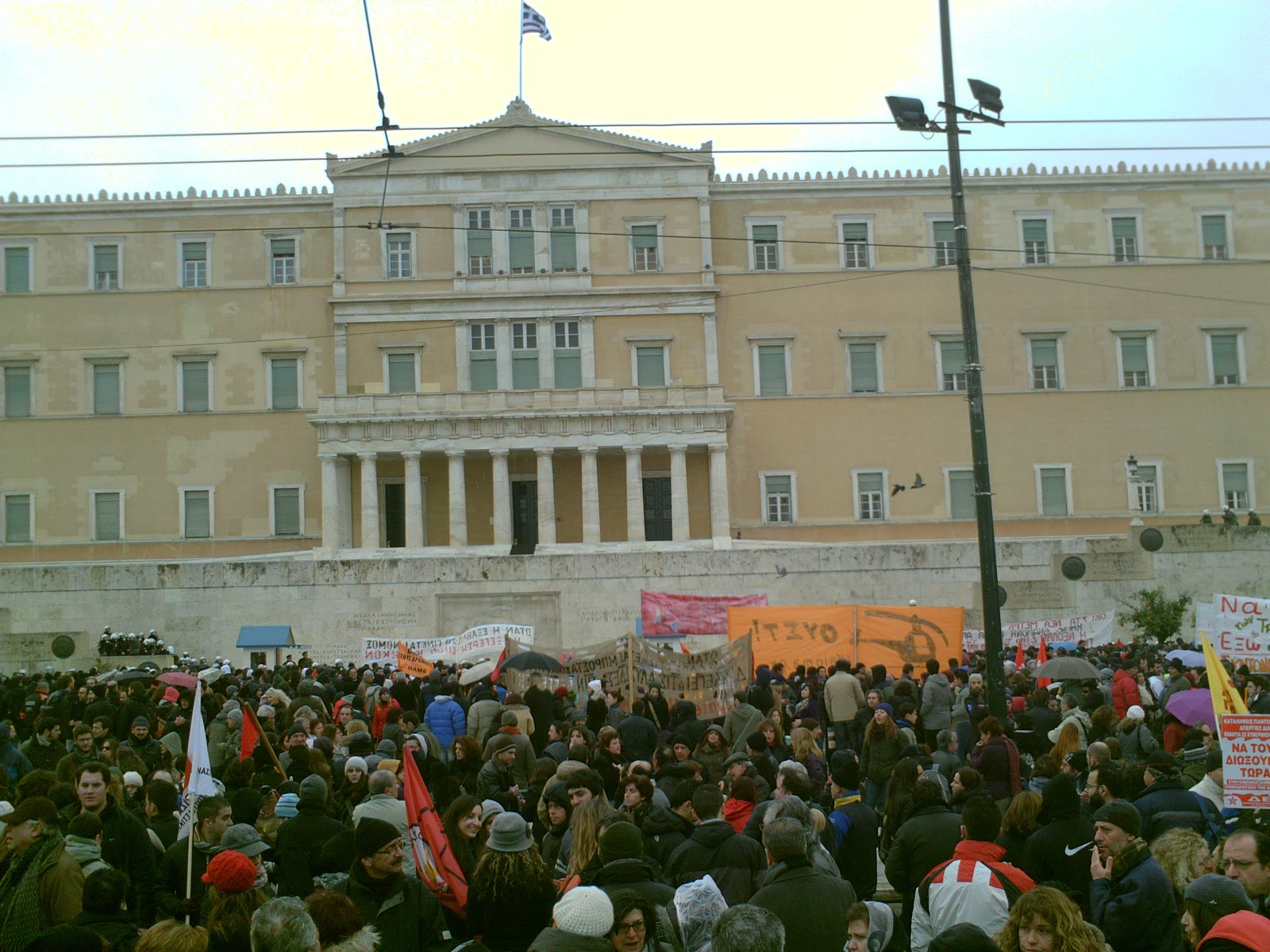 European Tribune - Greece: they must not pass