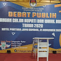 Ketua Tim Koalisi Pemenangan , Terkonfirmasi Covid 19  , Apakah Debat Kandidat Calon Pibub Tetap Berlangsung ?