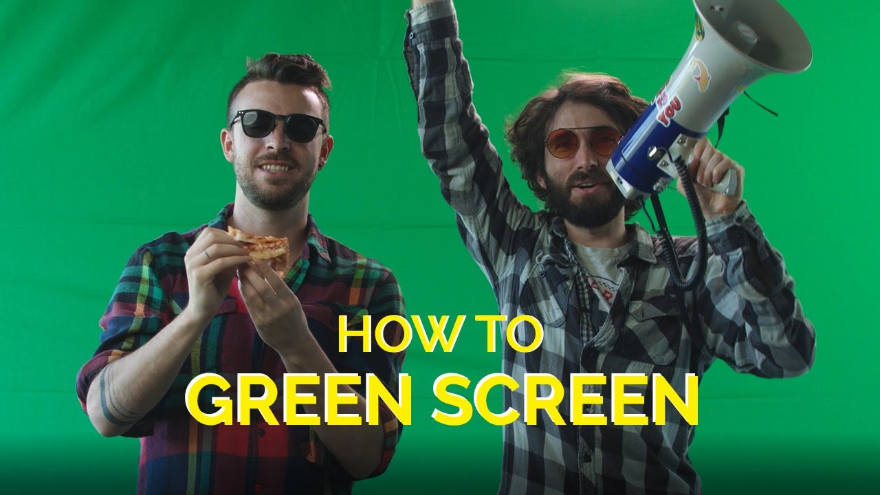 How to Green Screen Like a Pro