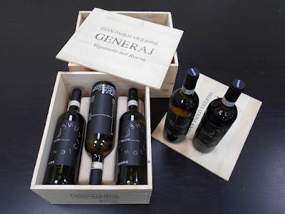 ワイナリー ジェネライ の辛口白ワイン Roero Arneis Quindicilune