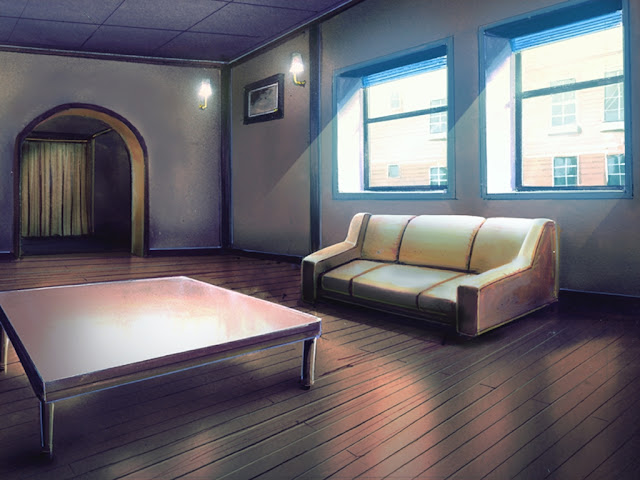 Ugly Couch Room (Anime Background)