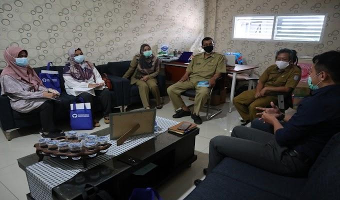 Sambangi Dinkes, Ombudsman Banten Cek Pelaksanaan Vaksinasi di Tangereng Selatan