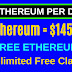 free etereum earning and mining site 2020