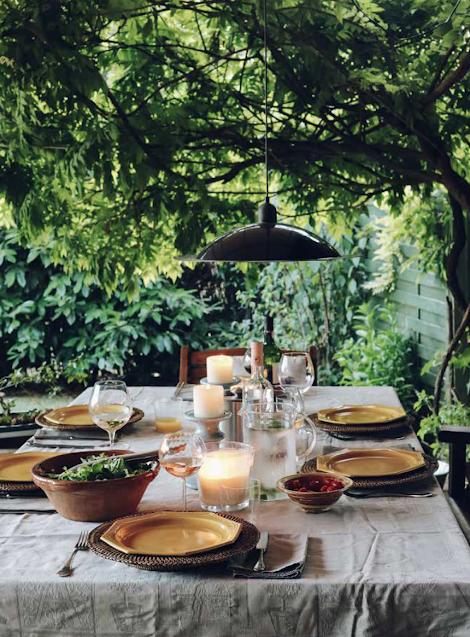 Inspiration décoration table d'été