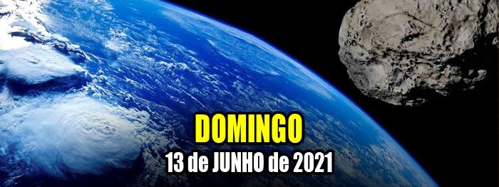 asteroide 2021 LO2 em 13 de junho de 2021