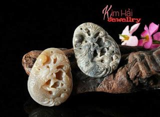 Ngọc bội làm từ đá san hô