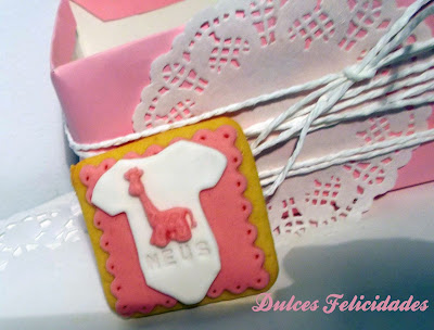 Galletas para bebé con decoración en relieve