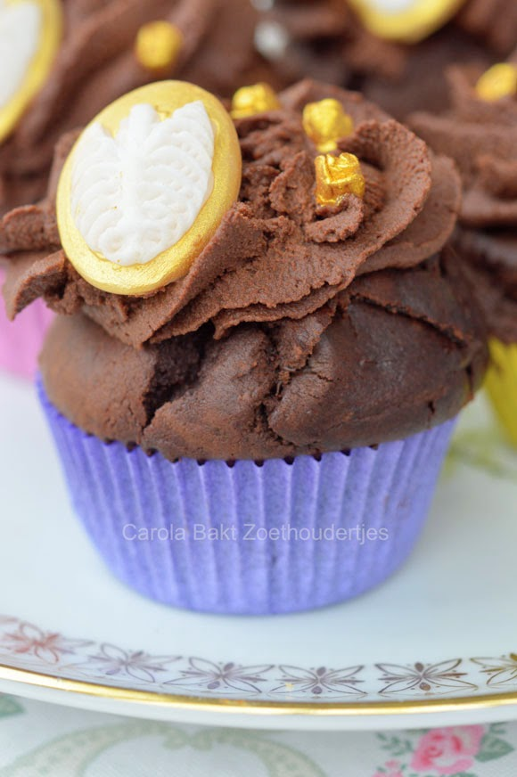 Duivels lekkere chocolade cupcakes