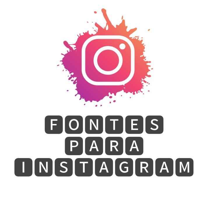 Fontes para Instagram,fontes de letras para Instagram