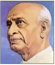 10 lines on Sardar Vallabhbhai Patel in Hindi